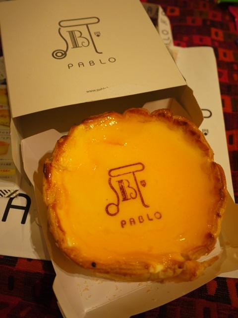【春遊.櫻之關西 】- 超人氣的PABLO烤起司蛋糕 @ 大阪心齋橋