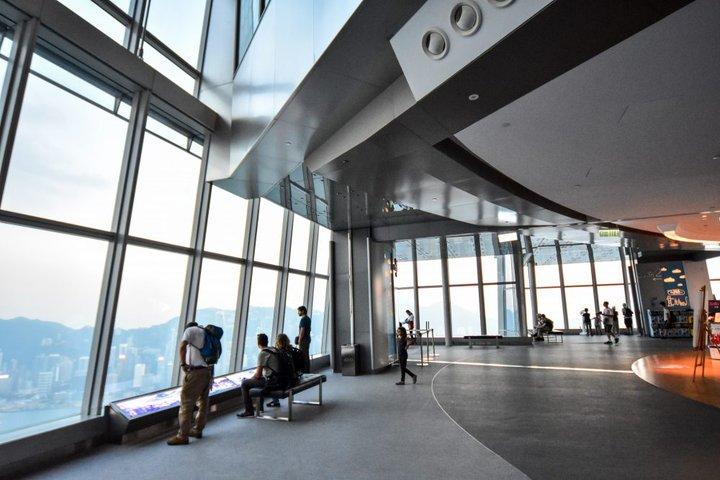 天际100香港观景台-维多利亚港就在你的脚下!