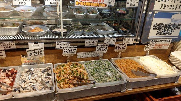 [上野][沼津港海将]东京1200日圆大啖直送海鲜的吃到饱餐厅