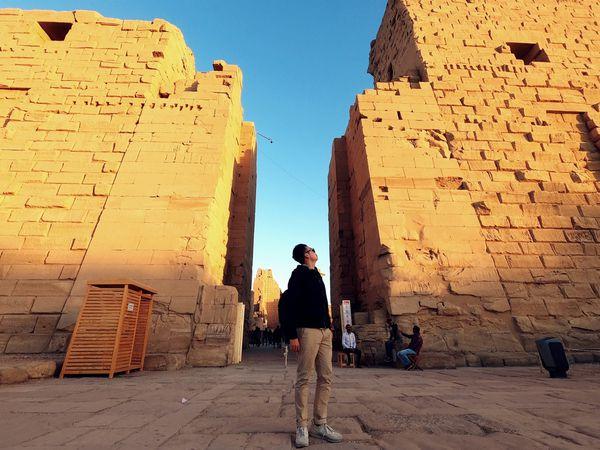 埃及卡納克神殿,讓人屏息的曠世神廟