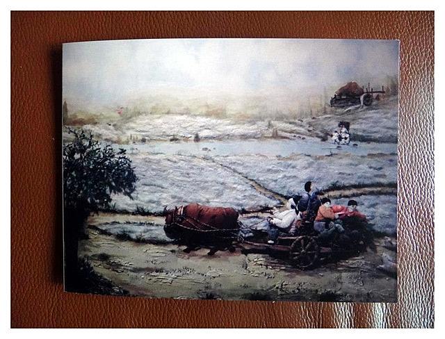 在韓國的台灣人,羅文凰韓紙民俗畫展
