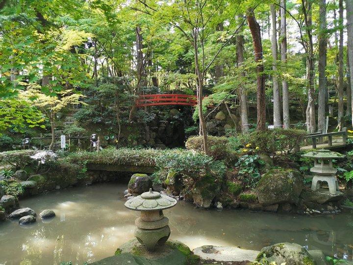 柏崎 松雲山荘庭園